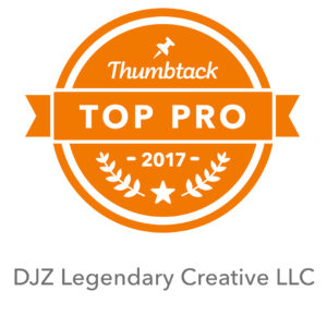 top professional badge from Thumbtack