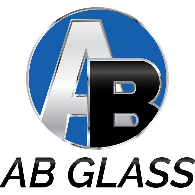 AB Glass logo design