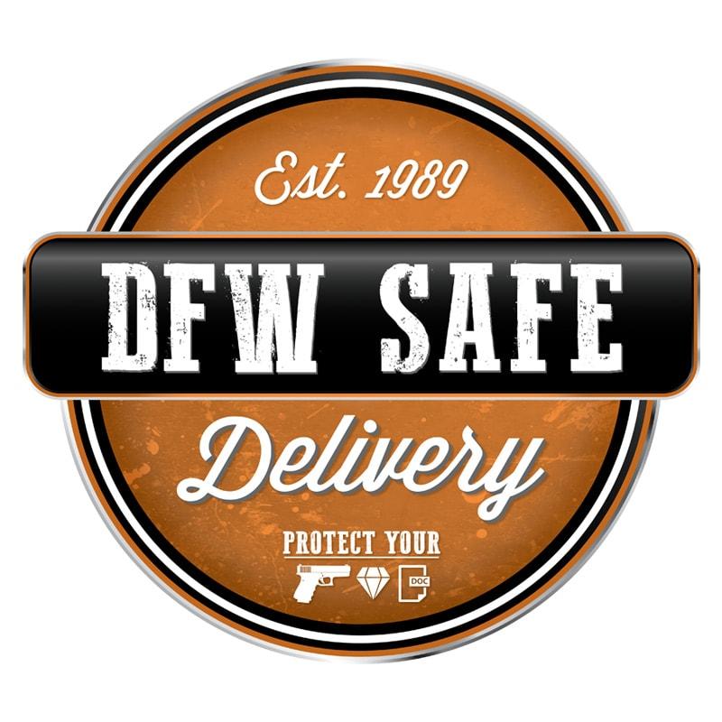 DFW Safe Delivery logo design