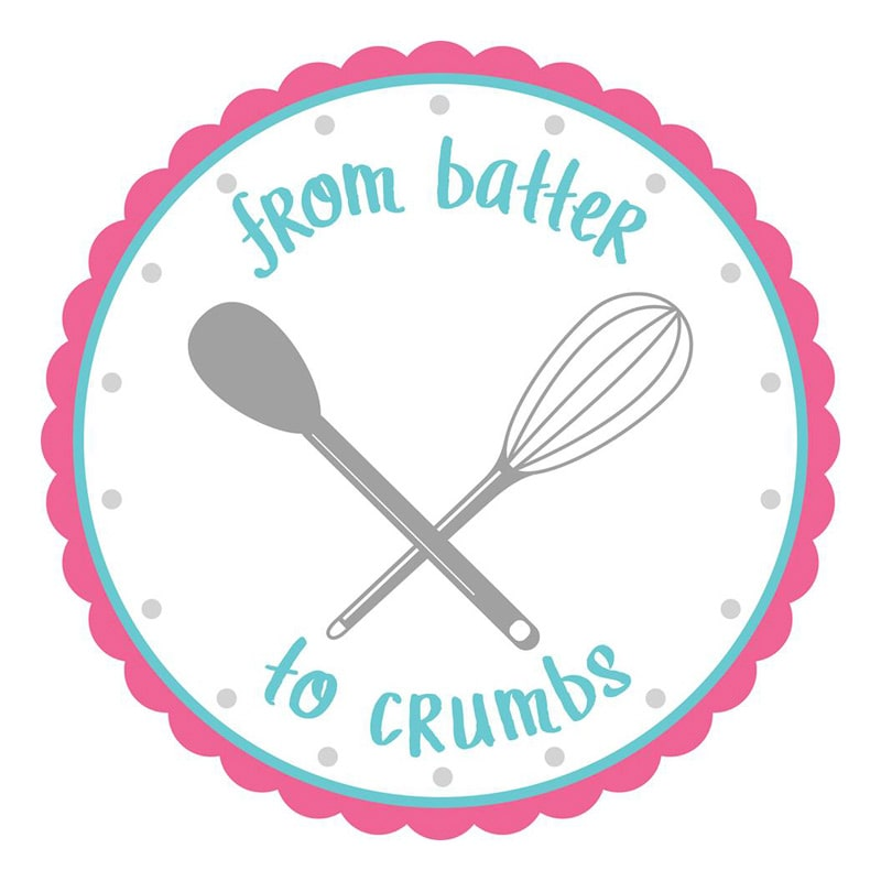 From Batter to Crumbs logo design