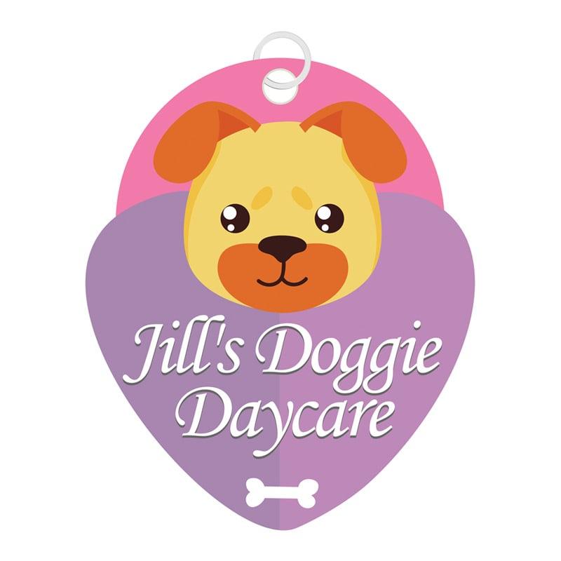 Jills Doggie Daycare logo design