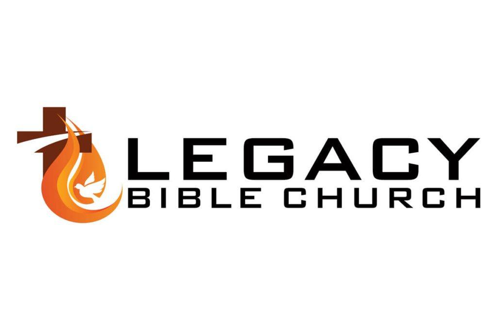 legacy bible church logo design