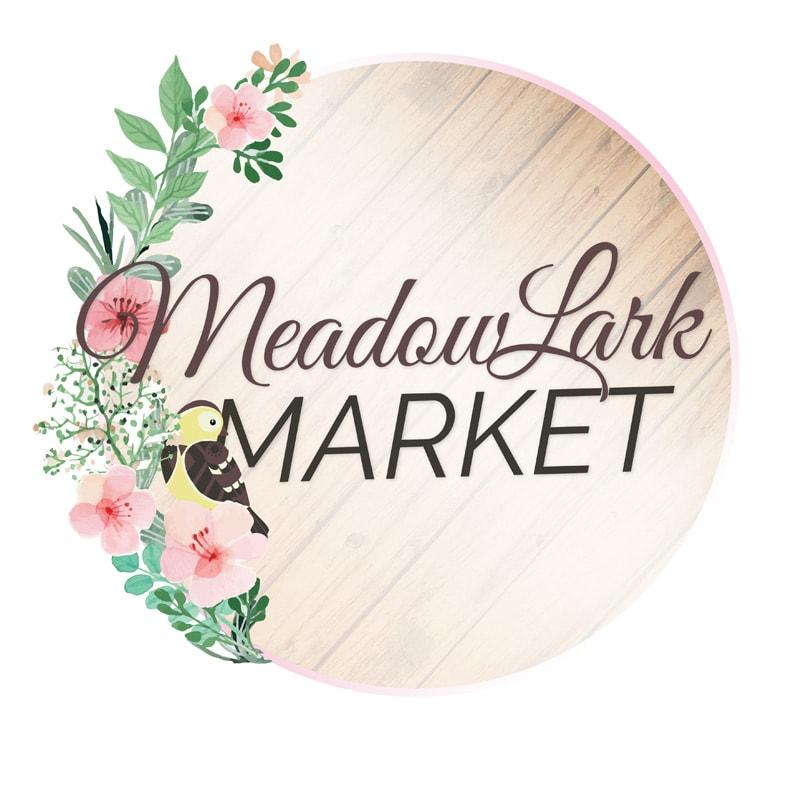 Meadowlark Market logo design
