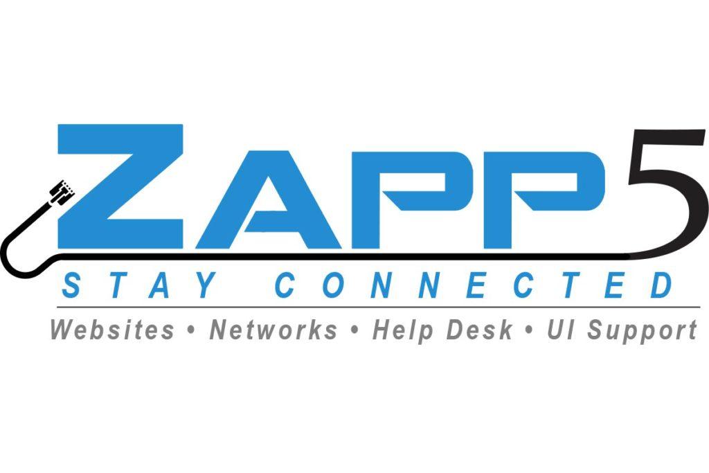 Zapp5 logo design