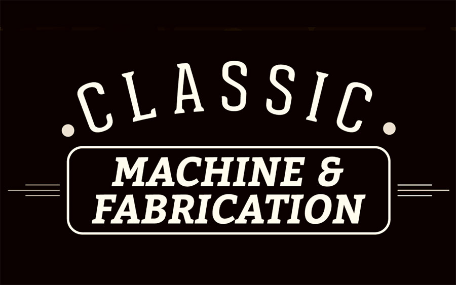 Classic-Machine-and-Fabrication- DJZ Legendary Creative logo design