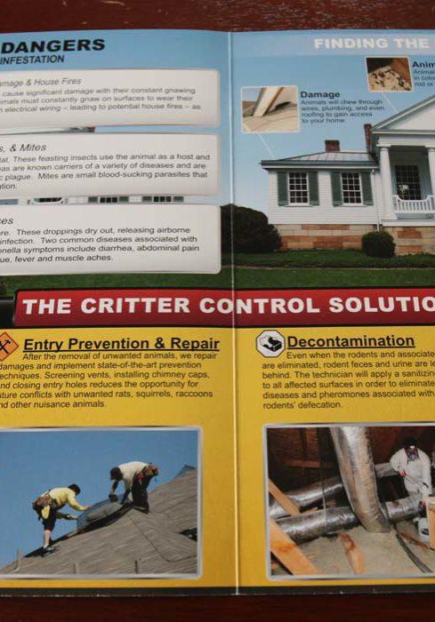 Critter Control Brochure (inside)