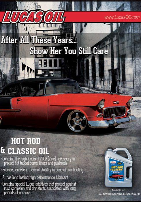 Vintage Hot Rod Oil Advertisement