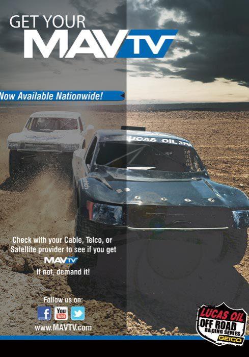 MAV TV Advertisement