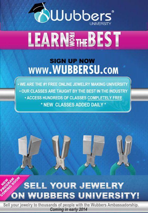 Wubbers University Advertisement