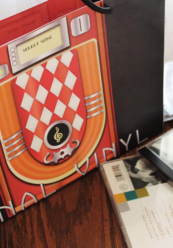 Final Vinyl Shopping Bag